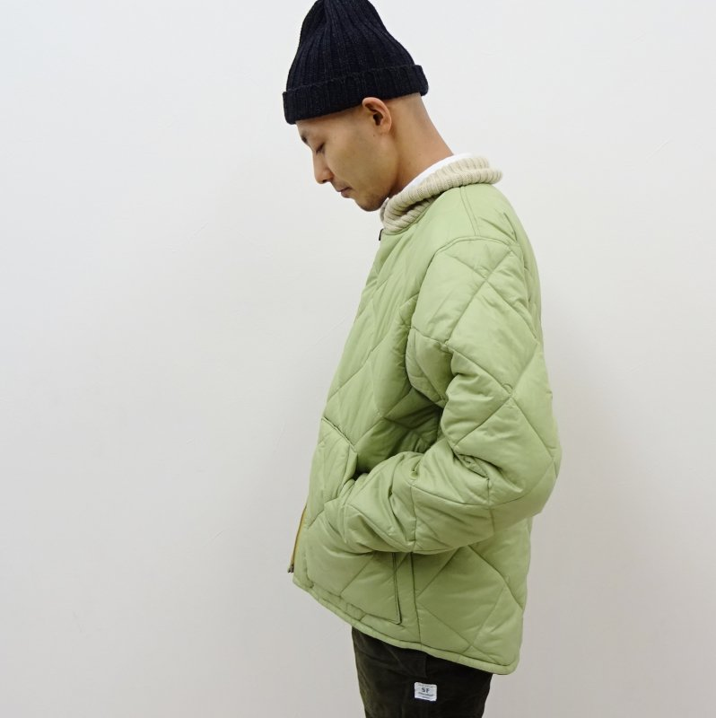 OREGONIAN POWELL QUILTED JACKET(CAMO/SAGE)