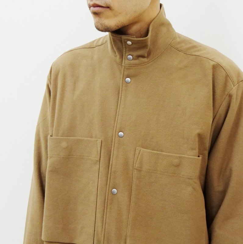 CURLY CRUST CH SHIRCKET(BEIGE)
