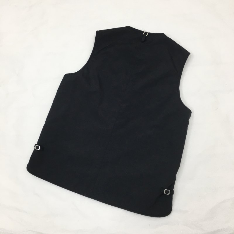 ARAN×GOLDEN DAY  VEST(BLACK )
