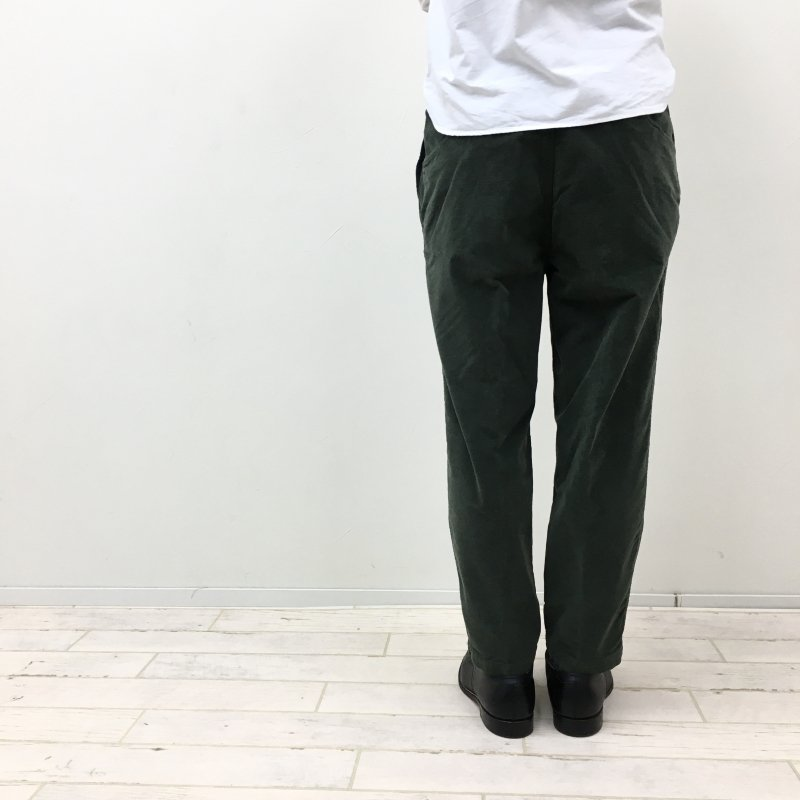 RICCARDO METHA 1TUCK LOOSE PANTS (NAVY/OLIVE/BLACK)【40%OFF】