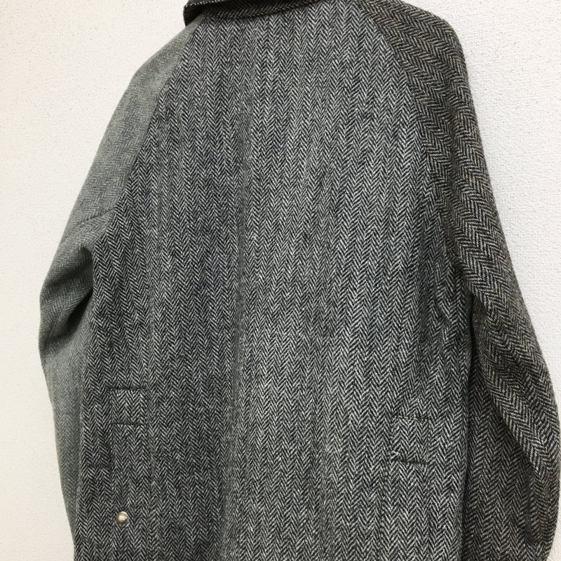 yoused HARRIS TWEED COUNTRY JACKET (SIZE 1)
