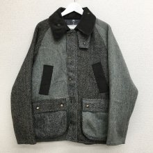 yoused HARRIS TWEED COUNTRY JACKET (SIZE M)