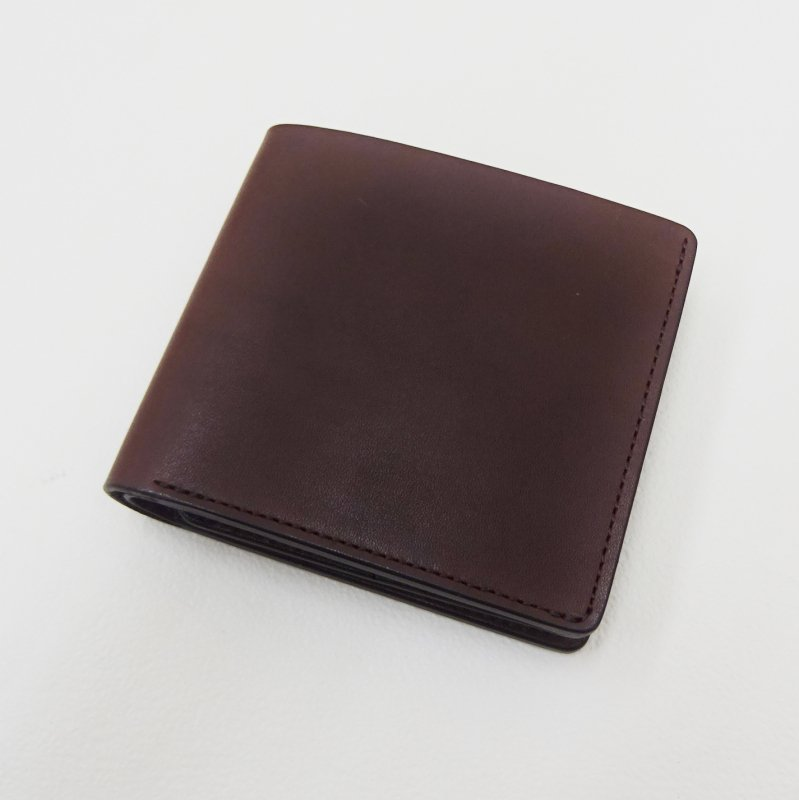 SLOW Double Oil Fold Wallet (CHOCO)