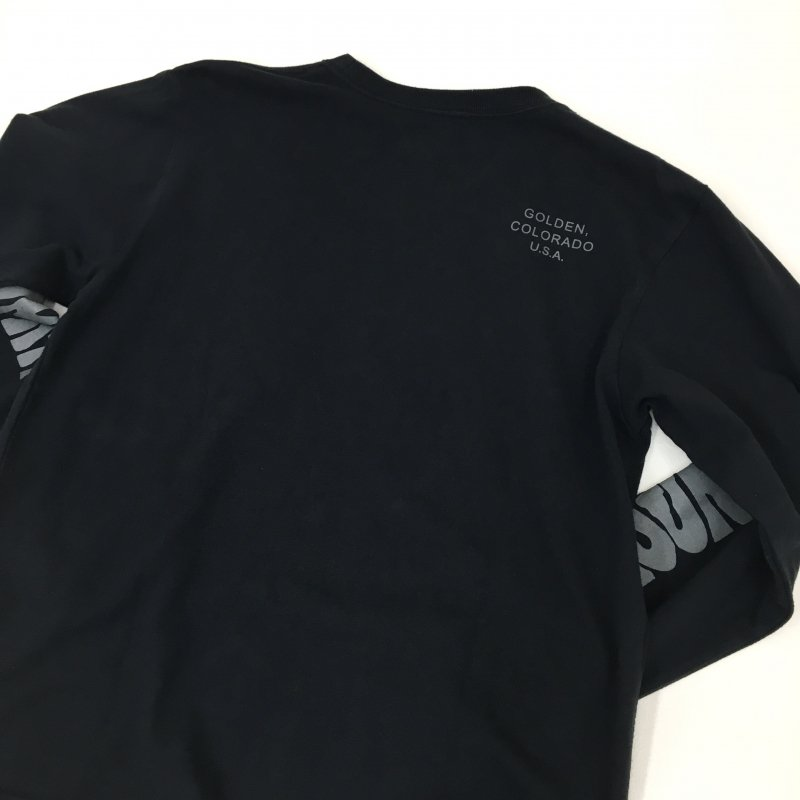 MOUNTAIN SMITH LONGSLEEVE TEE (BLACK)