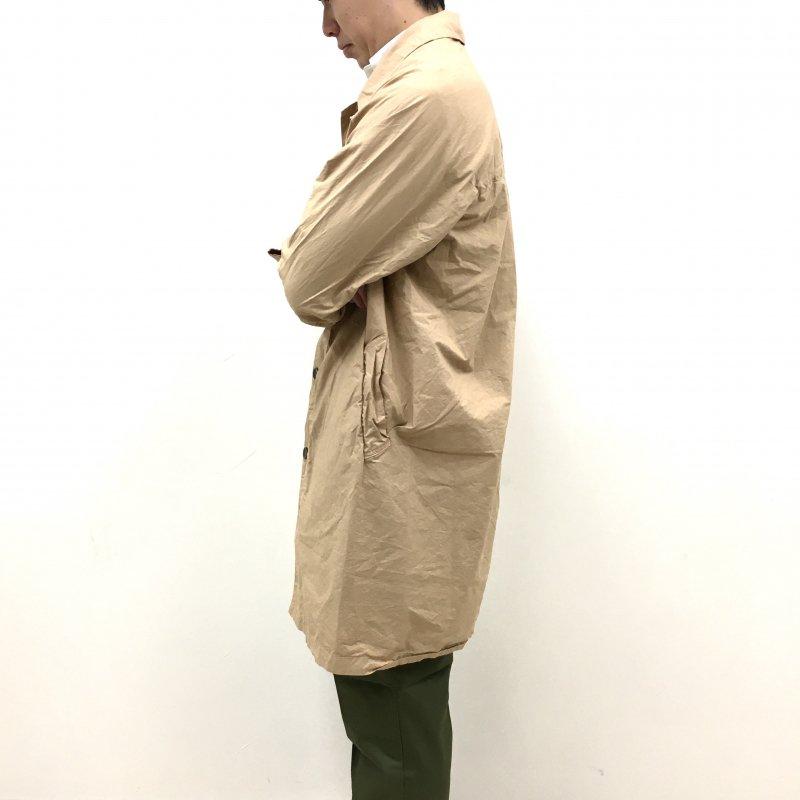 MANUAL ALPHABET YOKE SLEEVE SHTCOAT (CAMEL)【60%OFF】