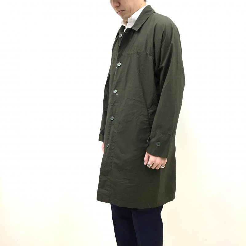 MANUAL ALPHABET YOKE SLEEVE SHTCOAT (KHAKI)【60%OFF】