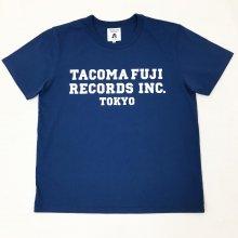 TACOMA FUJI  INC. TEE by Shuntaro Watanabe(NAVY)