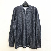 CURLY NOMADIC LS SMOCK SHIRTS (NAVY)