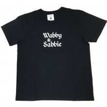 TACOMA FUJI  Wabby & Sabbie by FERNAND WANG-TEA designed by Jerry UKAI (BLACK)
