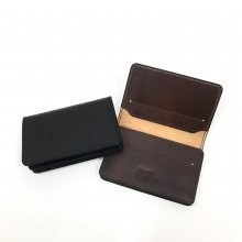 SLOW HERBIE CARD CASE (BLACK/RED BROWN)