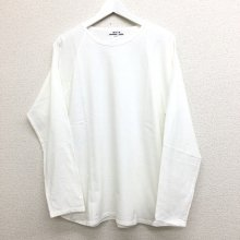 BETTER MID WEIGHT LONG SLEEVE T-SHIRT (OFF WHITE)