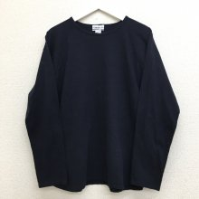 BETTER MID WEIGHT LONG SLEEVE T-SHIRT (NAVY)