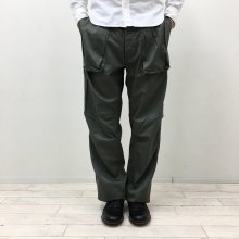 SASSAFRAS DIGS CREW PANTS(HERRINGBONE-OLIVE)
