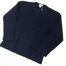 BETTER HALF CARDIGAN STITCHES T-SHIRT(NAVY)