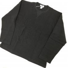 BETTER HALF CARDIGAN STITCHES T-SHIRT(CHARCOAL BROWN)