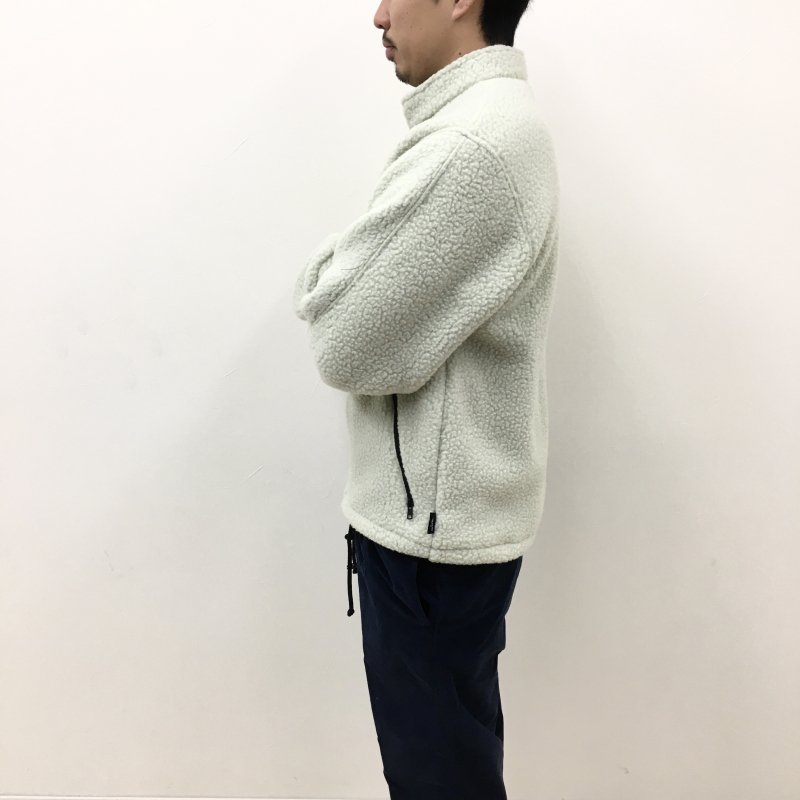 THOUSAND MILE MADE IN USA FLEECE JACKET (PELICAN)【50%OFF】