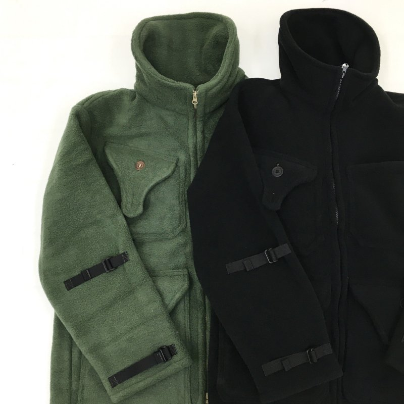 DAY ONE CAMOUFLAGE Hunting Fleece Jacket(OLIVE)【40%OFF】