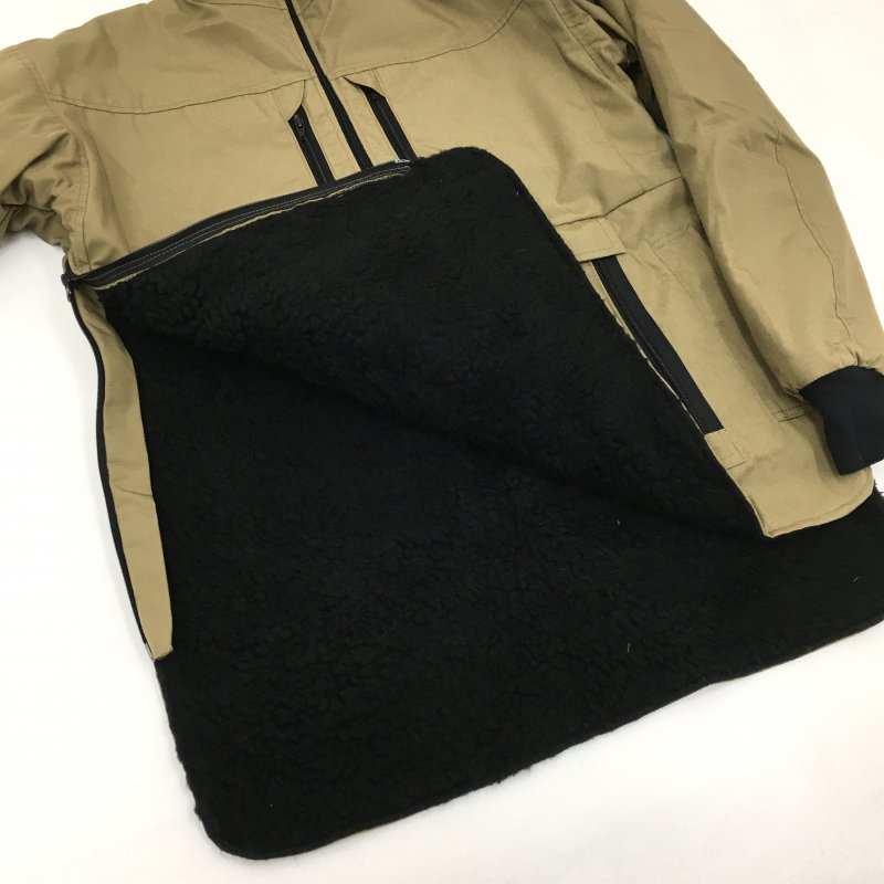FORTIS CLOTHING -SET IN MODEL- MAMMOTH JACKET(BEIGE)【50%OFF】