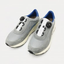 PG NEW DAWN NYLON MESH/SUEDE SNEAKERS (GRAY)