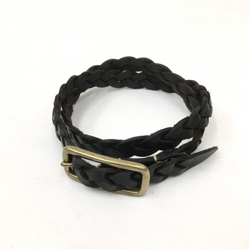 SLOW tochigileather mesh 20mm belt(BLACK/CHOCO/CAMEL)