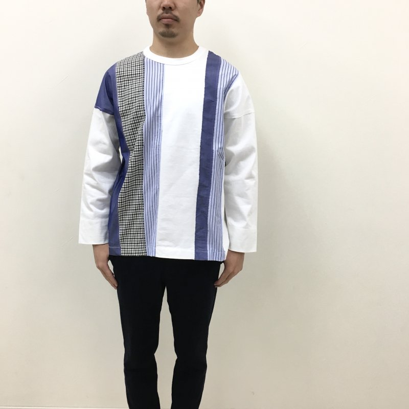 CURLY ANCOATS L/S TEE(WHITE)