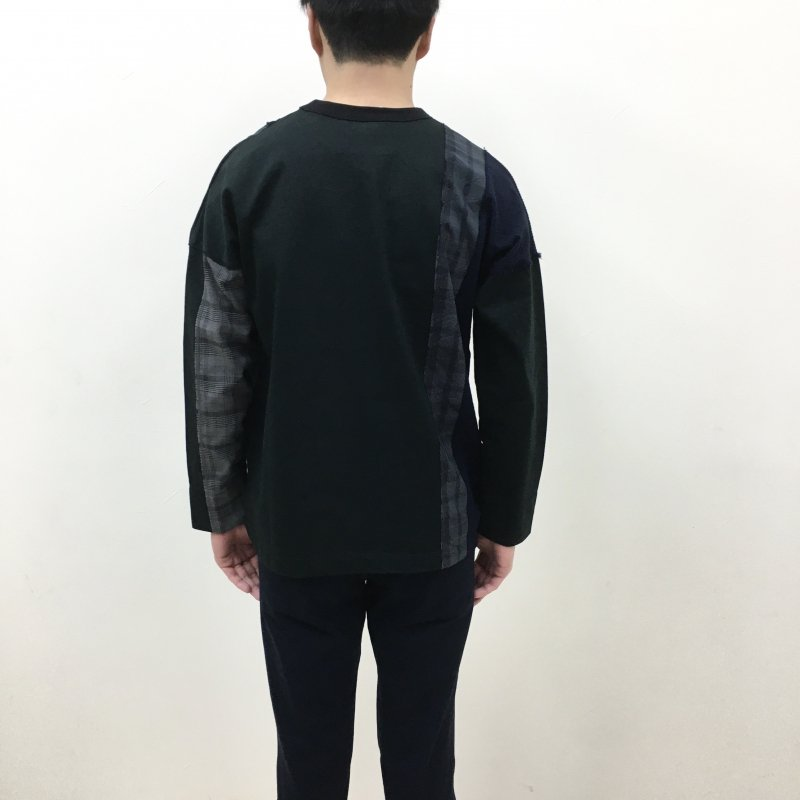 CURLY ANCOATS L/S TEE(BLACK)
