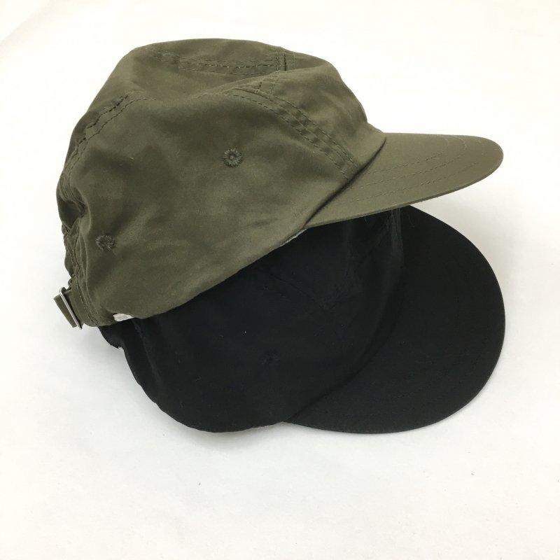 DECHO JET CAP-VENTILE(BLACK/D.OLIVE)