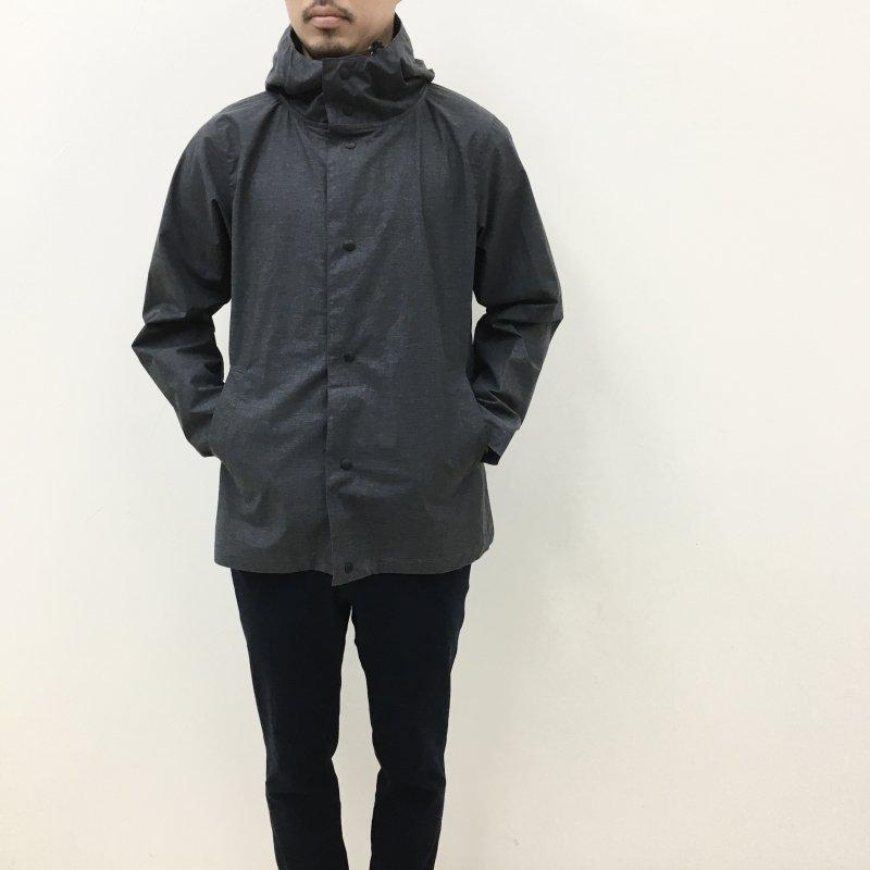JACKMAN  Atsumori Jacket(HEATHER-BLACK)