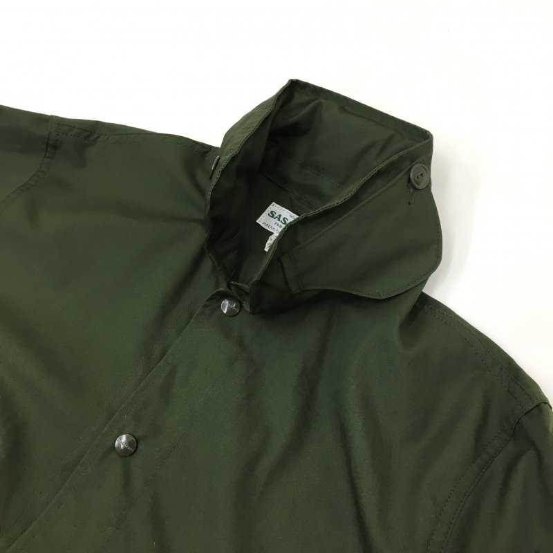 SASSAFRAS OVERGROWN COAT(WEATHERーOLIVE)