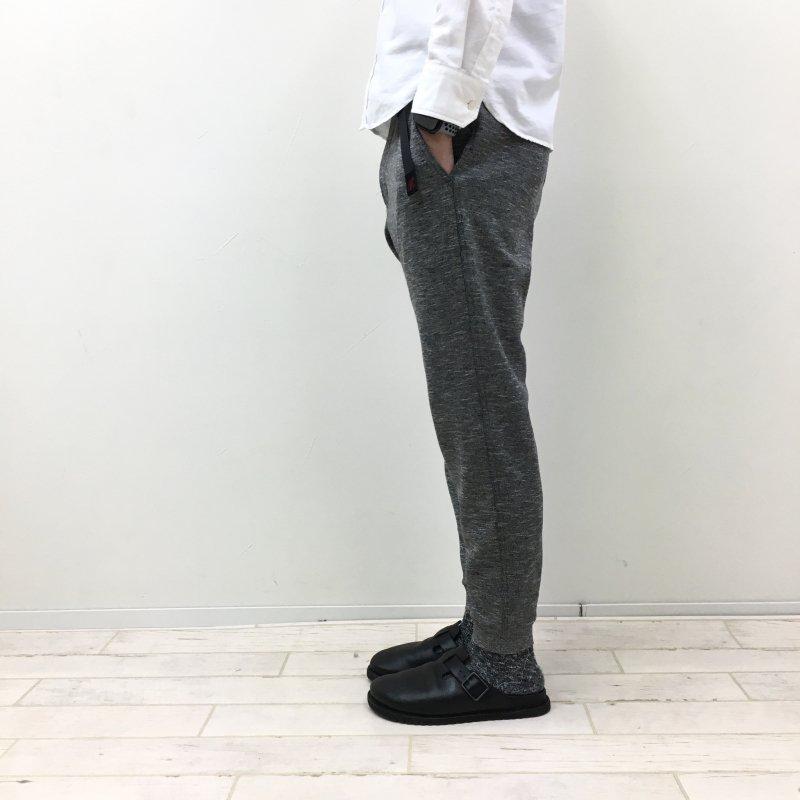 GRAMICCI COOLMAX NARROW RIB PANTS (HEATHER CHARCOAL)