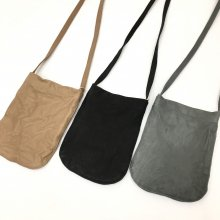 SLOW  mini one sholder bag (GRAY/BLACK/CAMEL)