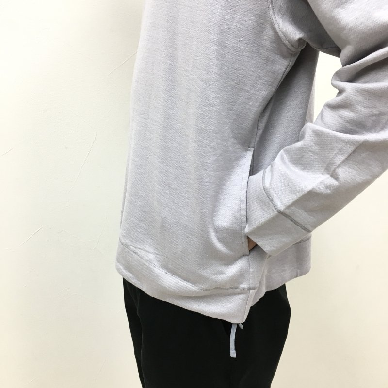 CURLY CLOUDY CREW SWEAT(Lt.GREY)