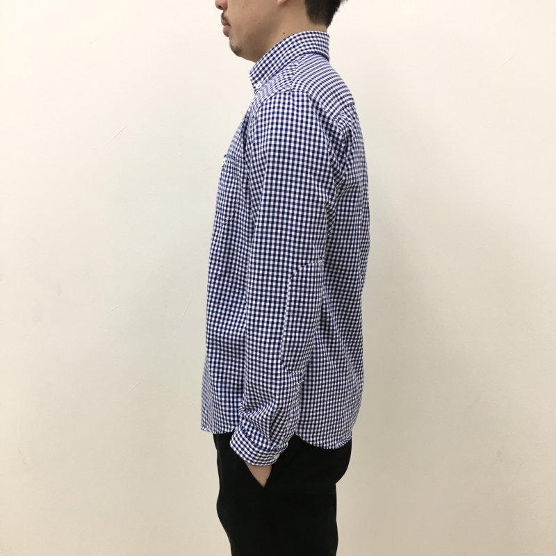 LOLO ギンガムチェックシャツ(NAVY)