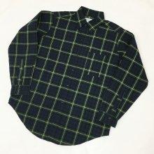 SASSAFRAS GREEN THUMB SHIRTS -TARTAN CHECK-(BLACK WATCH)