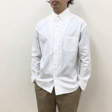 nisica 定番B.Dシャツ(WHITE)