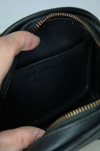 OLD COACH(オールドコーチ)  ショルダーバッグ(ポシェット) MADE IN U.S.A 中古