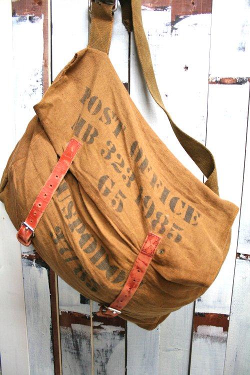 US POST OFFICE【USポストオフィース】 メイルバッグ 古着 ショルダーバッグ。