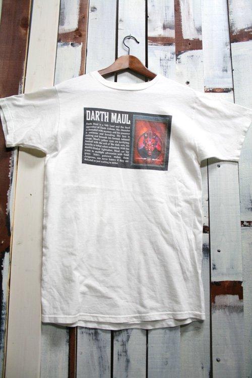 90s スターウォーズ【STAR WARS】 Tシャツ ダースモール【Darth Maul】 プリントTシャツ 古着