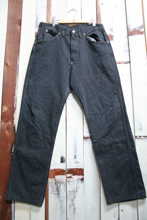 80年代頃 Carhartt(カーハート) ビンテージ ブラック デニムパンツ 古着