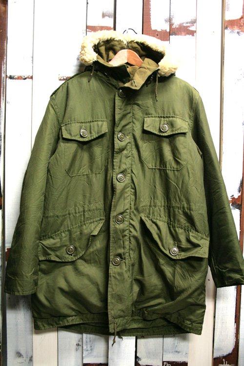 70年代 カナダ軍 ミリタリーコート モッズコート オリーブ 古着 ビンテージ