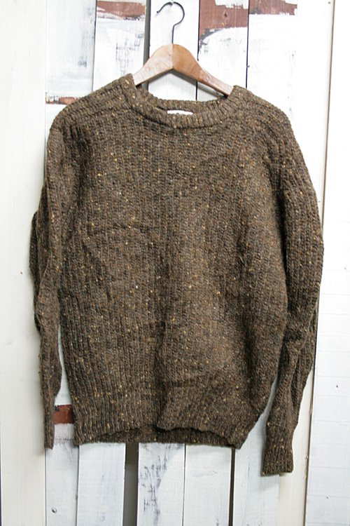 WOOLRICH|ウールリッチ セーター 古着 ブラウン 茶 ニット イングランド製