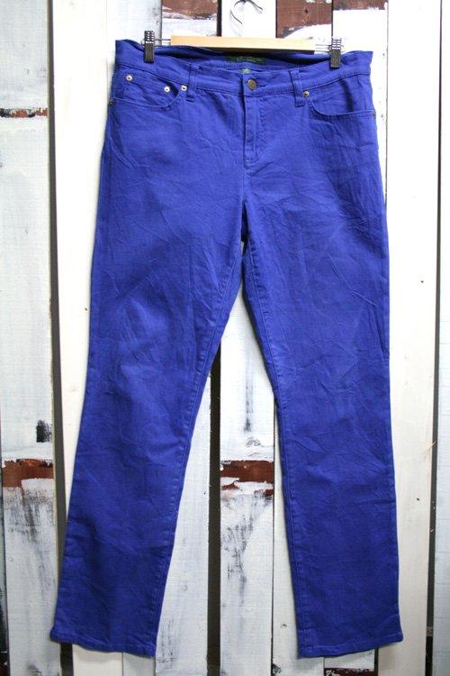 Ralph Lauren(ラルフローレン) カラーパンツ 古着 青 ブルー ストレート