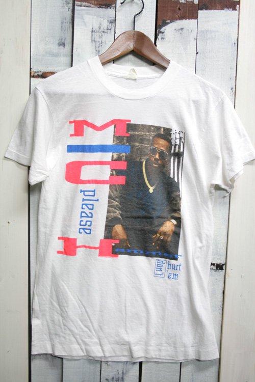 90年代 ビンテージ バンドTシャツ MCハマー エムシー・ハマー MC Hammer ホワイト 白 古着