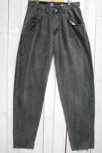 古着 Levi's リーバイス  シルバータブ SILVER TAB BAGGY バギーパンツ ブラック 黒