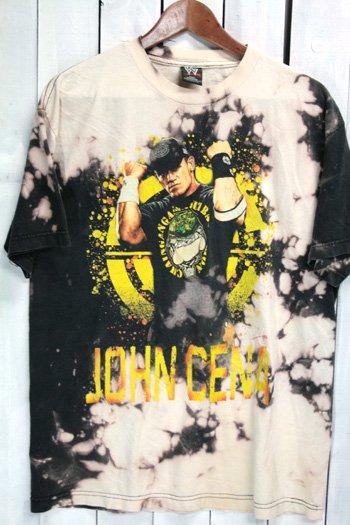 古着 WWE John Cena (ジョン・シナ)  Tシャツ ビンテージ タイダイ染め プロレス