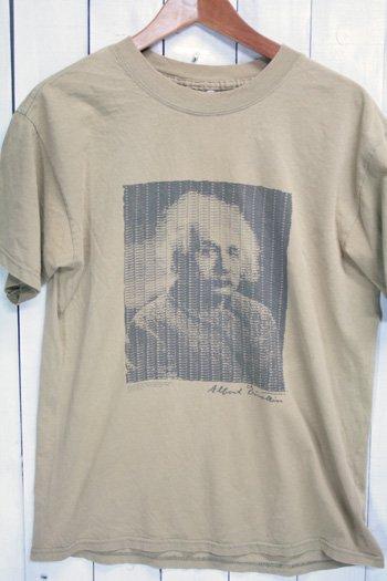 90年代 アルベルト・アインシュタイン Tシャツ ブラウン 古着 ビンテージ