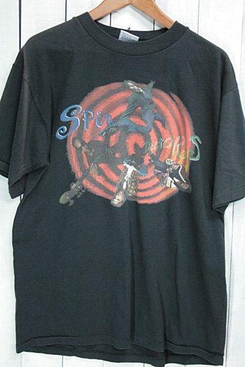 90年代 スピン・ドクターズ (Spin Doctors) ビンテージ バンドTシャツ ブラック 黒 オルタナティヴ