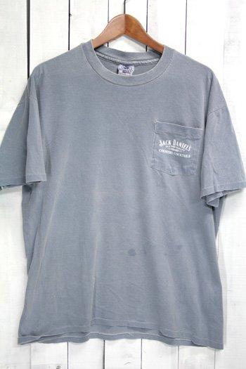 90年代 古着 ジャックダニエル ポケットTシャツ