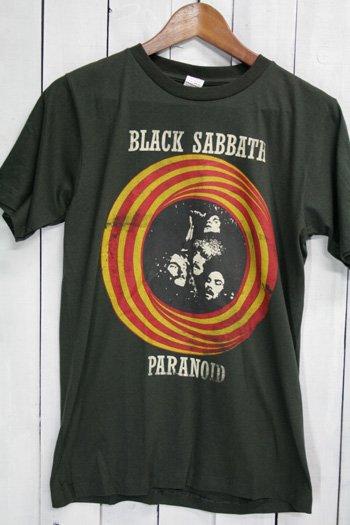 <img class='new_mark_img1' src='https://img.shop-pro.jp/img/new/icons43.gif' style='border:none;display:inline;margin:0px;padding:0px;width:auto;' />ブラック・サバス Black Sabbath Tシャツ ビンテージプリント バンドTシャツ ブラック