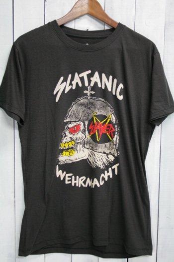 スレイヤー SLAYER Tシャツ ビンテージプリント バンドTシャツ ブラック